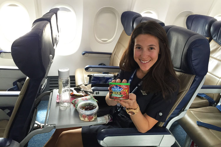 Healthy snacks to pack for long haul flights